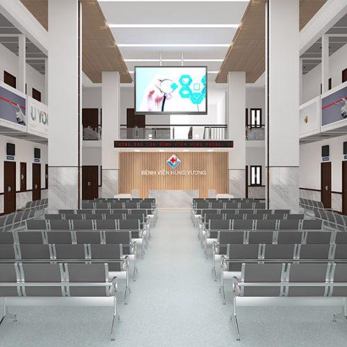 Cải tạo bệnh viện Hùng Vương